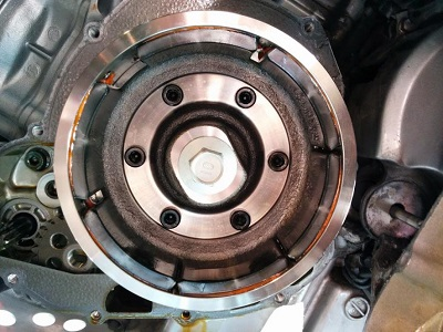 Разместване на магнити от магнет на DL1000.