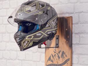 Helmet holder for wall 3