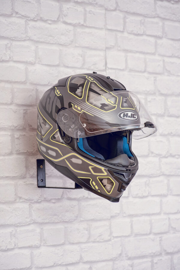 Helmet holder for wall without wooden base 2
