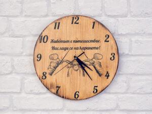 Motorcycle wall clock 2